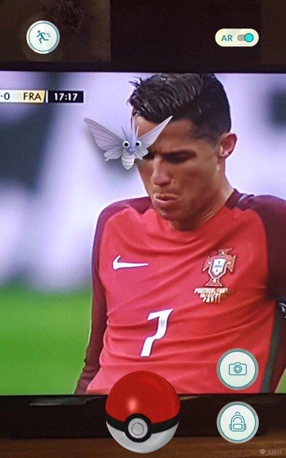 Роналдо и Бабочка