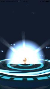 Скриншот из игры Pokemon GO