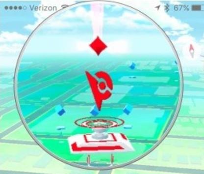 Gym в Pokemon GO