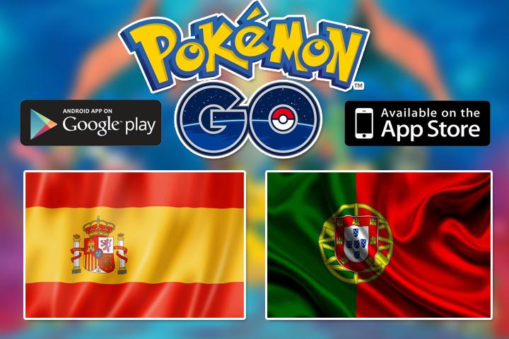 Pokemon GO релиз игры в Португалии и Испании