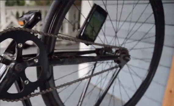 Второй способ Колеса велосипеда